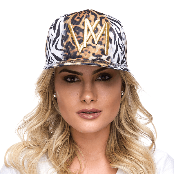BONÉ SNAP BACK ZEBRA / ONÇA - VILLA MIX