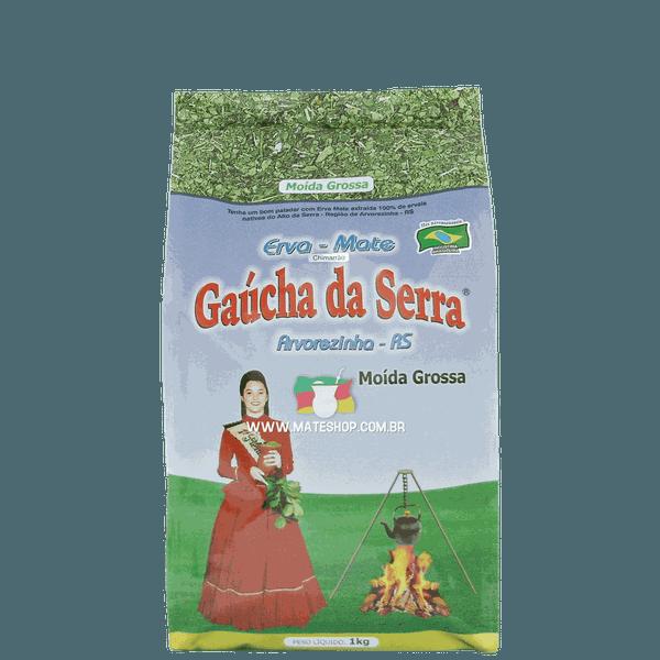Erva-Mate Gaúcha da Serra Moída Grossa 1Kg