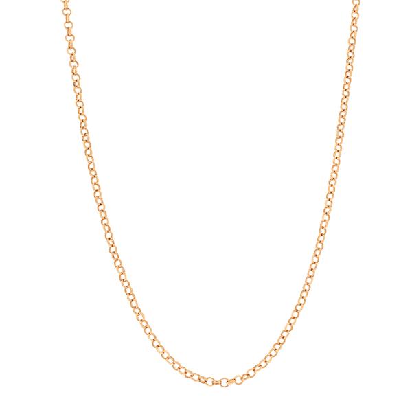 Corrente Portuguesa em Ouro Rosé 18K 40cm 1,5mm