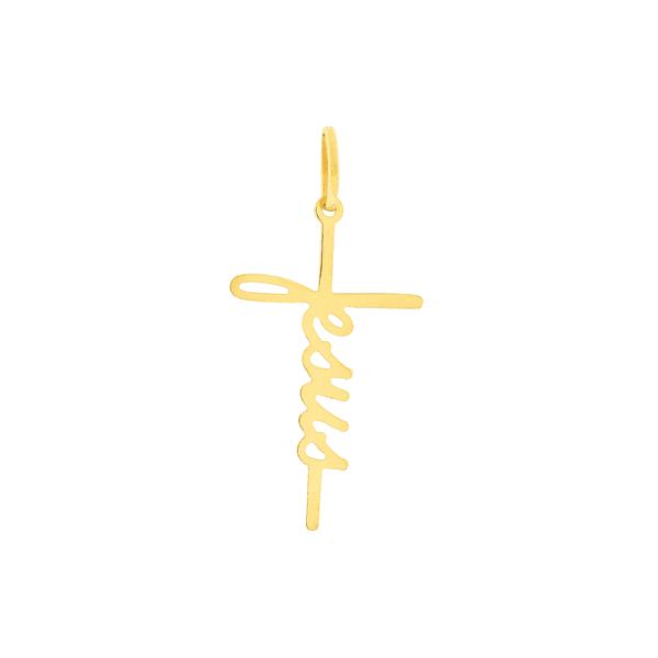 Pingente Jesus em Ouro 18K
