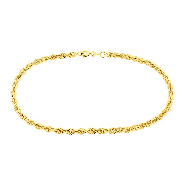 Pulseira Torcida em Ouro 18K 19cm