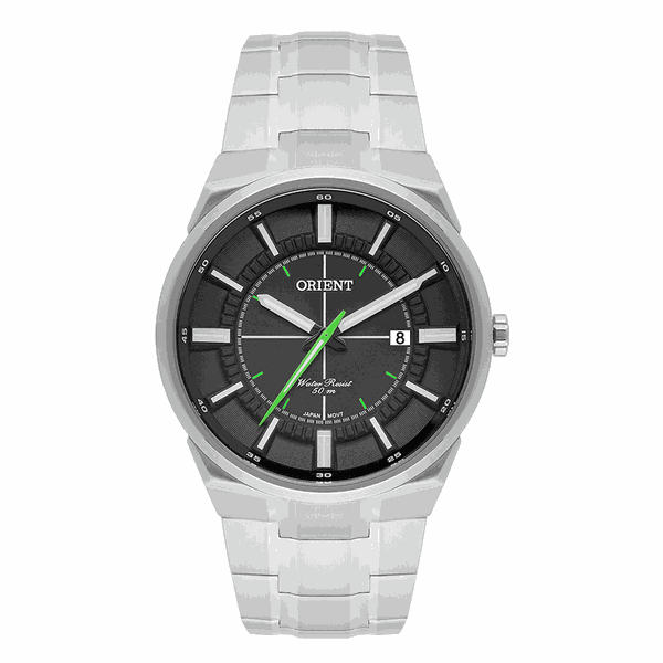 Relógio Orient Masculino Neo Sport Cinza com Verde
