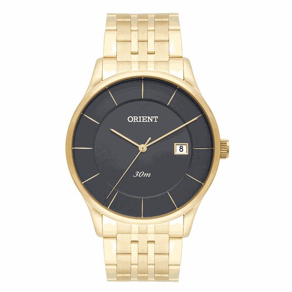 Relógio Orient Masculino Clássico Dourado