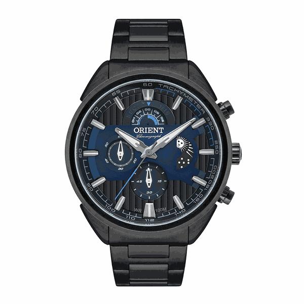 Relógio Orient Masculinos Sport Preto Cronógrafo