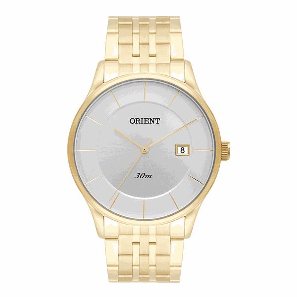 Relógio Orient Masculinos Clássico Dourado