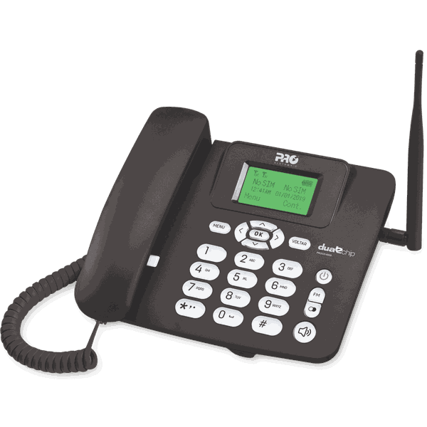 TELEFONE CELULAR RURAL DUAL CHIP – PROCD-6020