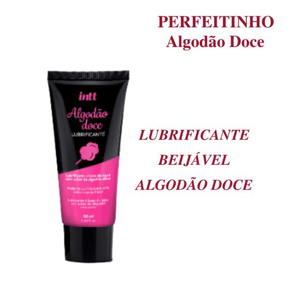PERFEITINHO LUBRIFICANTE BEIJÁVEL SABOR ALGODÃO DOCE