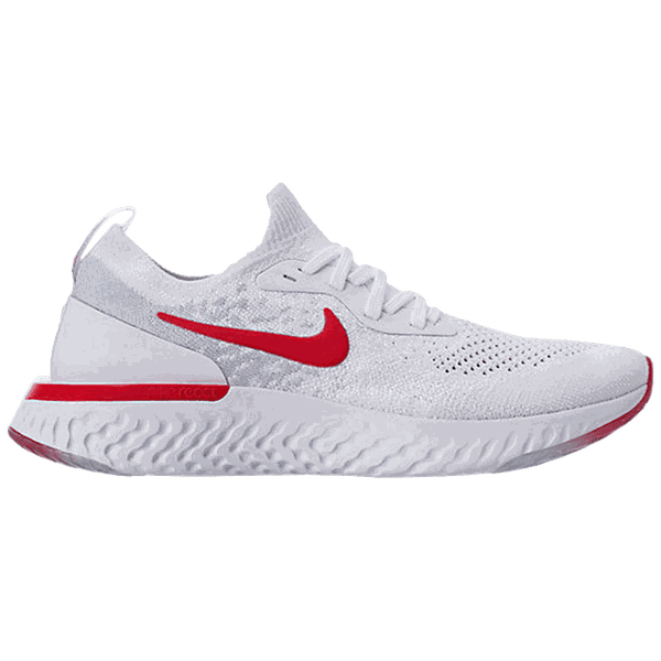 TÊNIS NIKE EPIC REACT WHITE/ RED