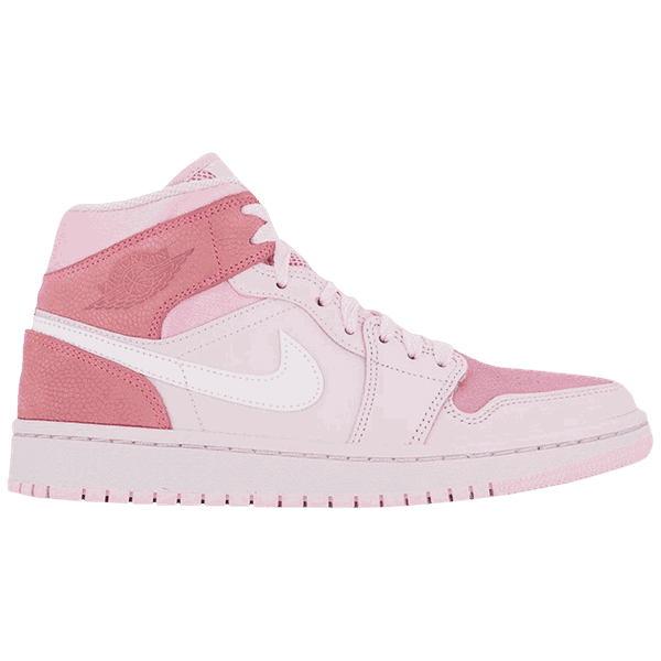 TÊNIS NIKE AIR JORDAN 1 MID DIGITAL PINK