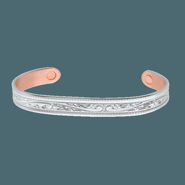 Pulseira Sabona - Prata trabalhada modelo 20
