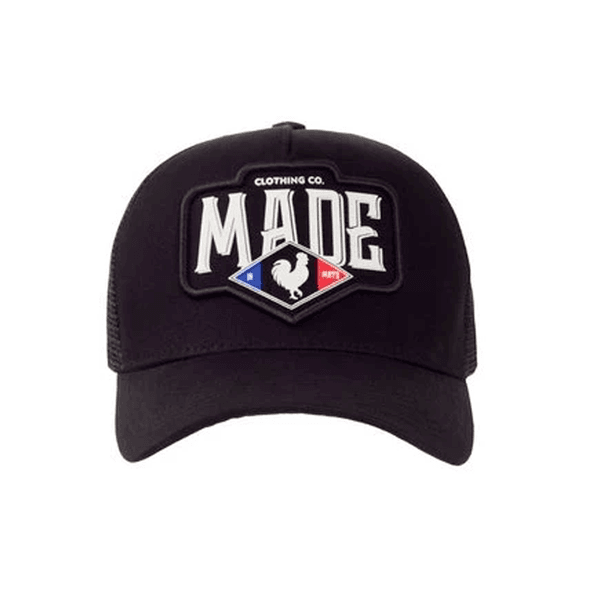 Boné Made In Mato Trucker France Preto