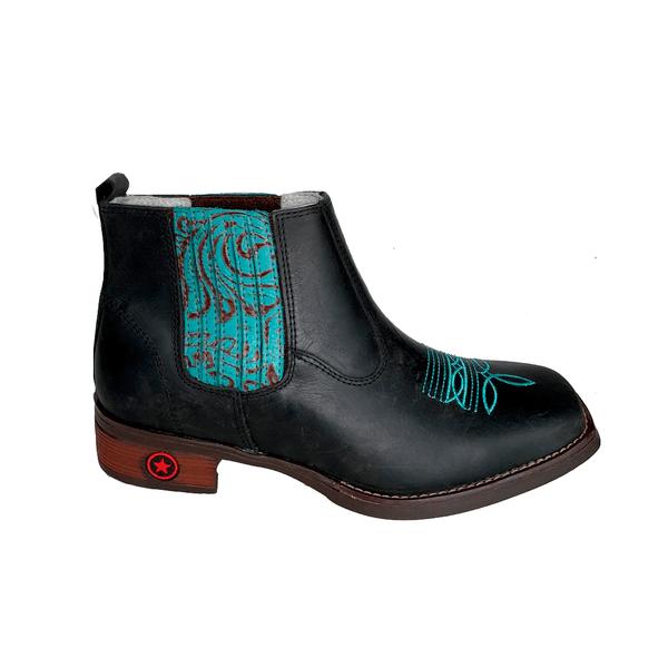 Botina Vilela Boots Turquesa