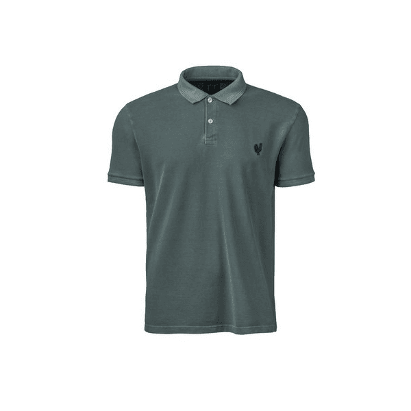 Camisa Polo Masculina Made In Mato Stone Musgo