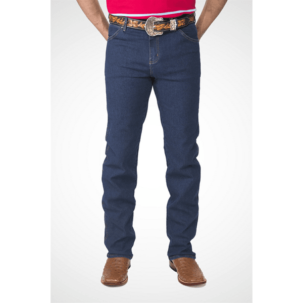 Calça Tassa Country Masculina Cowboy Cut Dark Wash Lycra