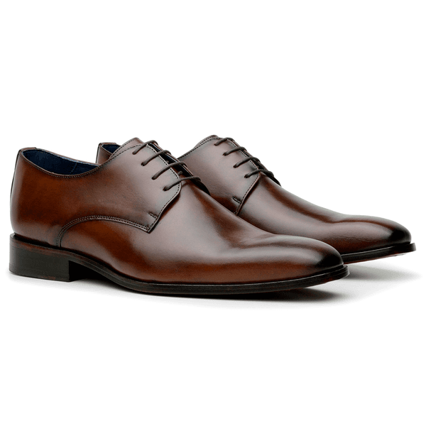 SAPATO MASCULINO DERBY SMITH WHISKY