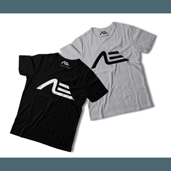 Kit 2 Camisetas Masculina Adaption Preta/cinza