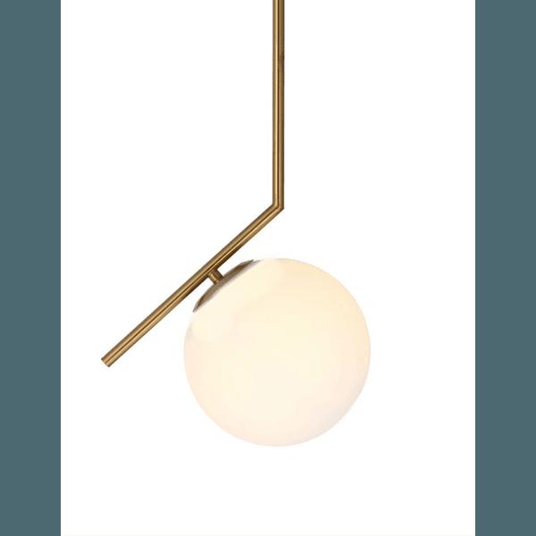 Lustre Pendente Angular Ball Jabuticaba Alamin-LE2014/1 G