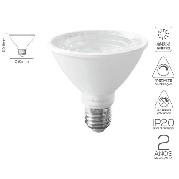 LÂMPADA LED PAR30 9W-36º , 11W-35º | EVOLED