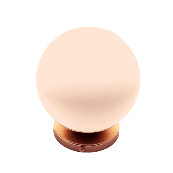 Arandela Luminária de Parede Plafon Jabuticaba-Alamin LE23/1G-Rosê