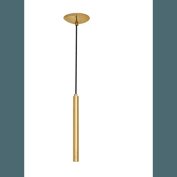 Lustre Pendente Tubinho -LE40/M-Dourado
