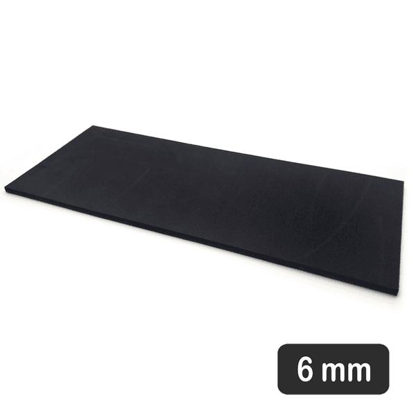 Palmilha - placa de EVA - 6 MM Hard para compensação de dismetria 12X32 cm