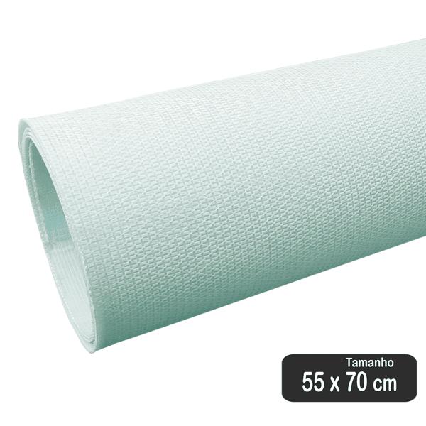 PLACA DE RESINA FLUÍDICA DE 1 MM + TECIDO GRIP BRANCO (70 X 55 CM)