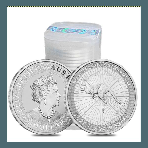 Tubo 2021 Silver Australian Kangaroo 1 oz