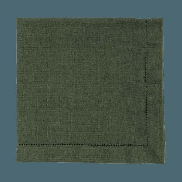 Guardanapo linho verde militar