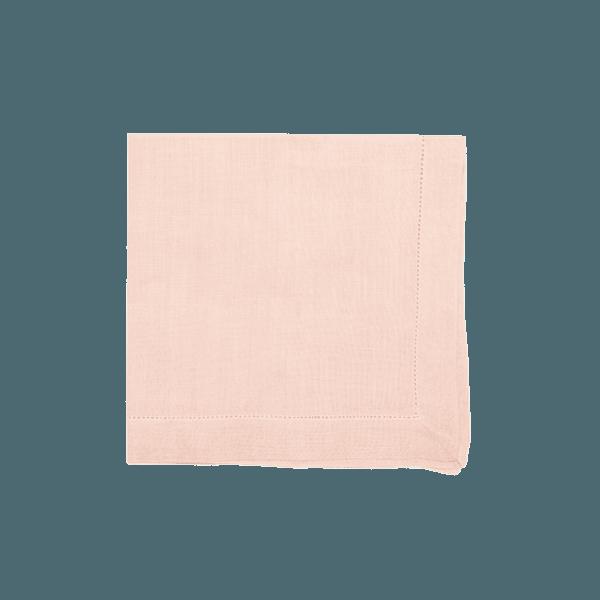 Guardanapo linho rosa claro
