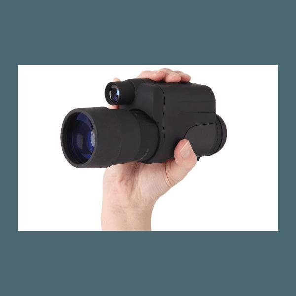 Monóculo de visão noturna Nightfall 4x50 com tubo intensificador russo
