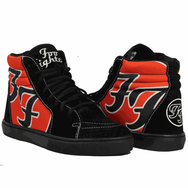 Foo Fighters Cano Alto Sk8-Hi