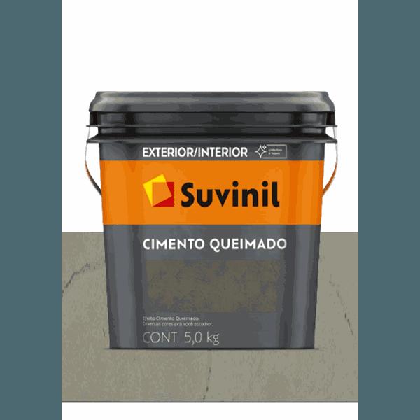 CIMENTO QUEIMADO DIA DE CHUVA SUVINIL 5KG