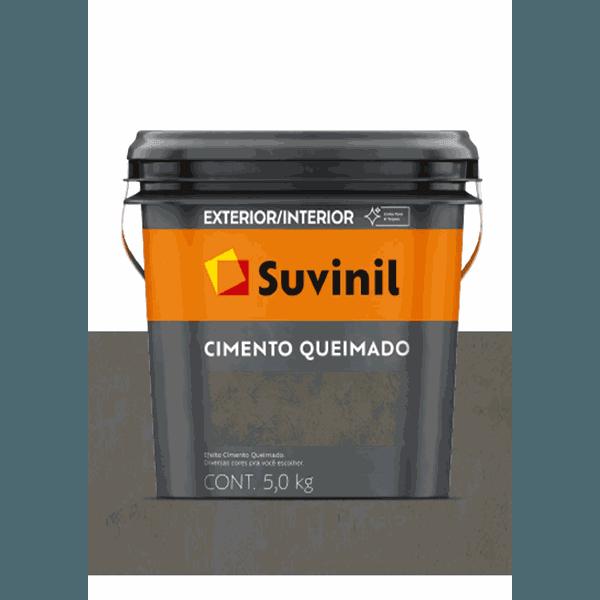 CIMENTO QUEIMADO TÚNEL DE CONCRETO SUVINIL 5KG