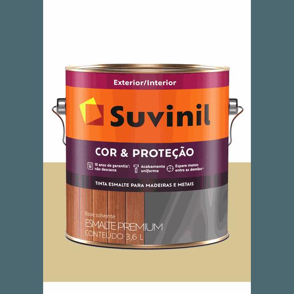 SUVINIL ESMALTE COR E PROTEÇÃO ACETINADO AREIA 3,6L