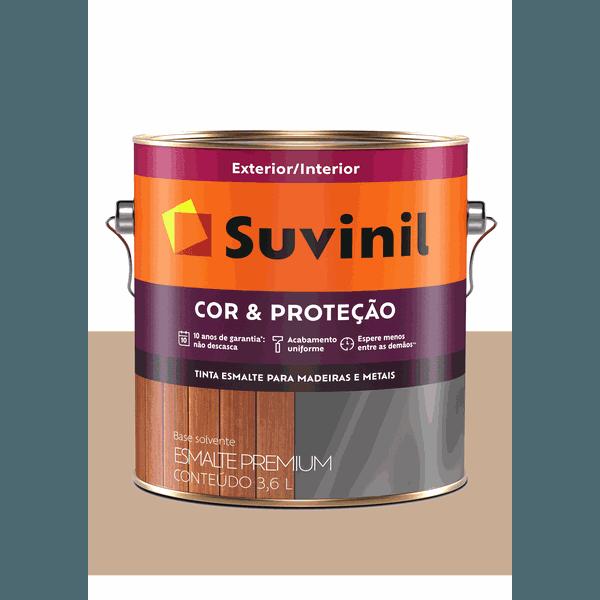 SUVINIL ESMALTE COR E PROTEÇÃO BRILHANTE CAMURÇA 3,6L