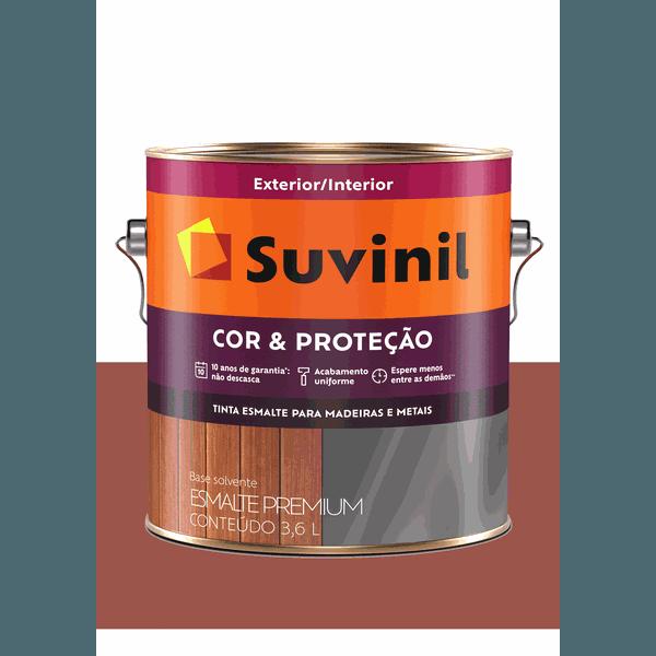 SUVINIL ESMALTE COR E PROTEÇÃO BRILHANTE CERÂMICA 3,6L