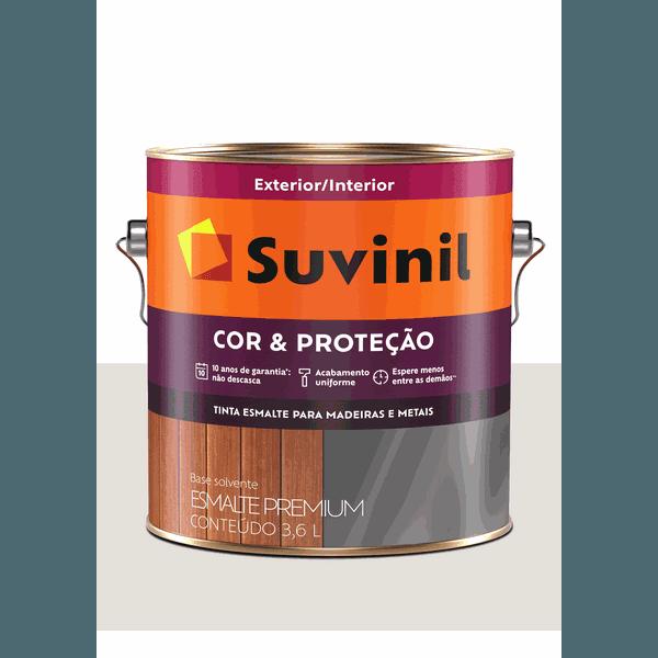 SUVINIL ESMALTE COR E PROTEÇÃO ACETINADO GELO 3,6L
