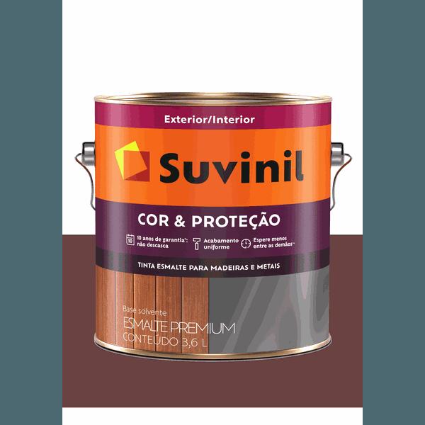 SUVINIL ESMALTE COR E PROTEÇÃO BRILHANTE VINHO CHASSIS 3,6L