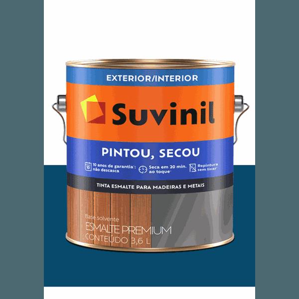SUVINIL ESMALTE PINTOU SECOU PETRÓLEO 3,6L