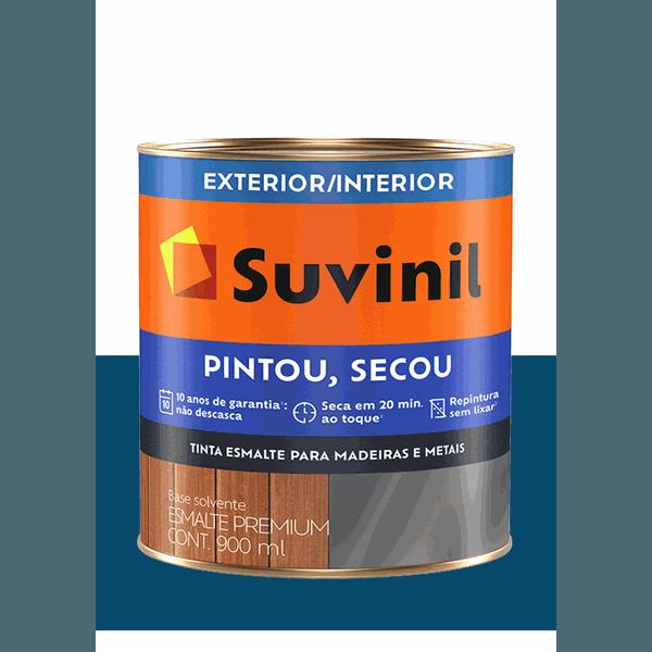 SUVINIL ESMALTE PINTOU SECOU PETRÓLEO 900ML