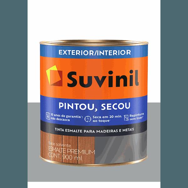 SUVINIL ESMALTE PINTOU SECOU PLATINA 900ML