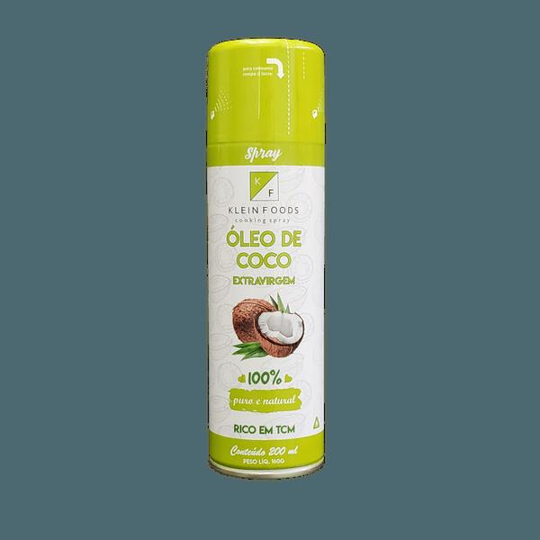 Óleo de Coco Extravirgem Spray Klein Foods 210ml