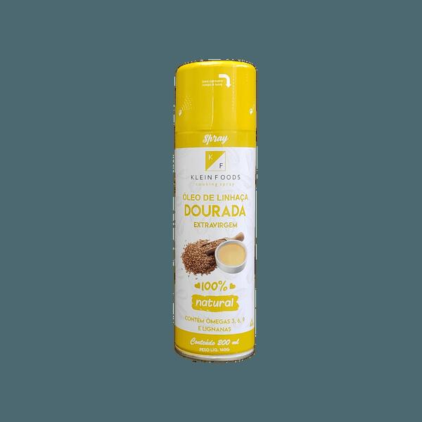 Óleo de Linhaça Dourada Extravirgem Spray 200ml