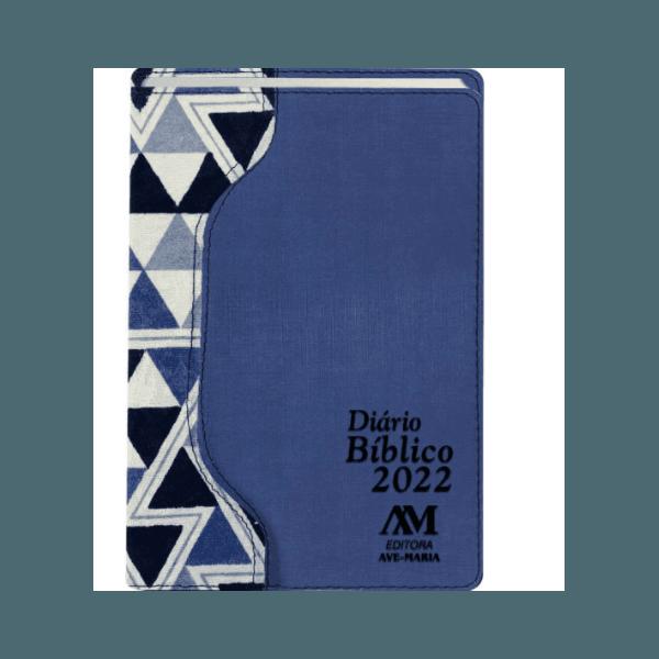 Diário Bíblico 2022 - Luxo - Azul Claro