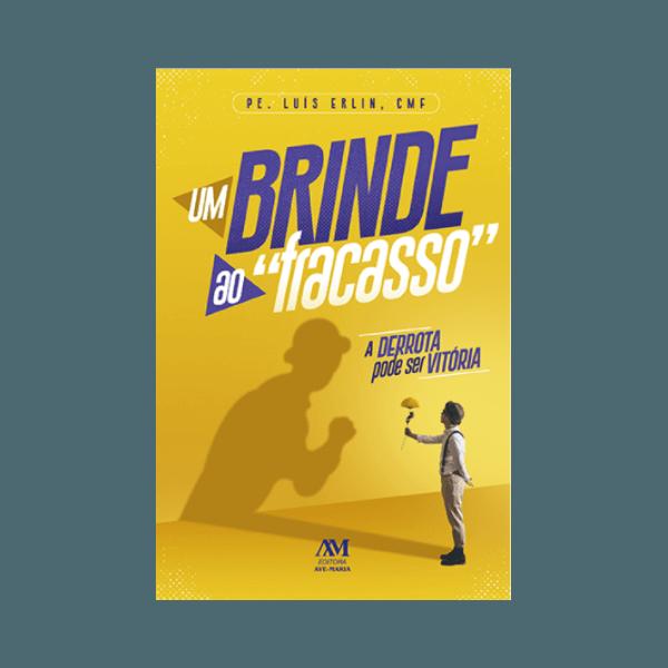 Livro : Um brinde ao Fracasso - Pe Luís Erlin,CMF
