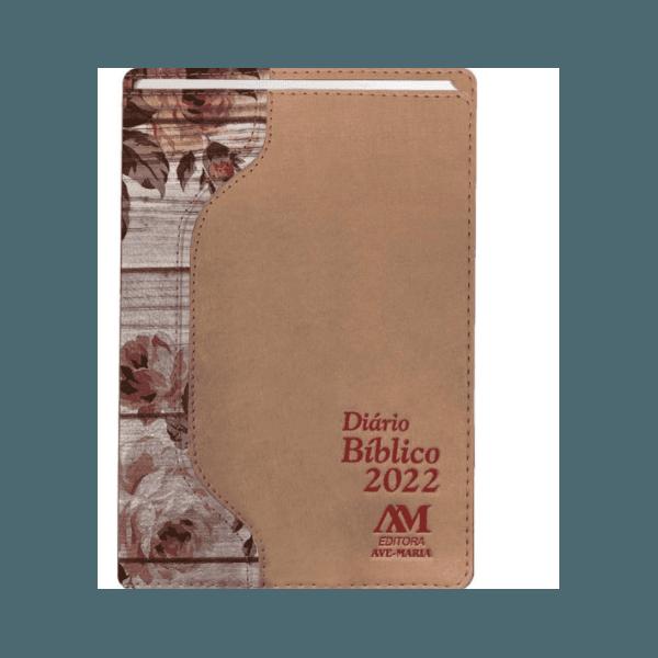 Diário Bíblico 2022 - Luxo -Rosa Floral
