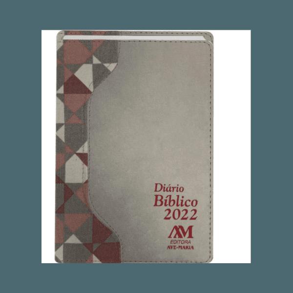 Diário Bíblico 2022 - Luxo -Prata