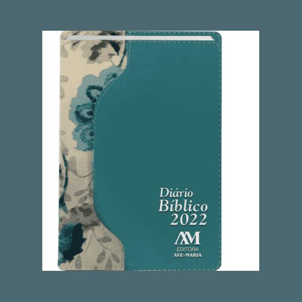 Diário Bíblico 2022 - Luxo - Verde Floral