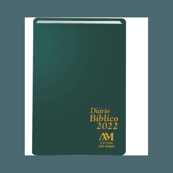 Diário Bíblico 2022- Ave Maria -Verde