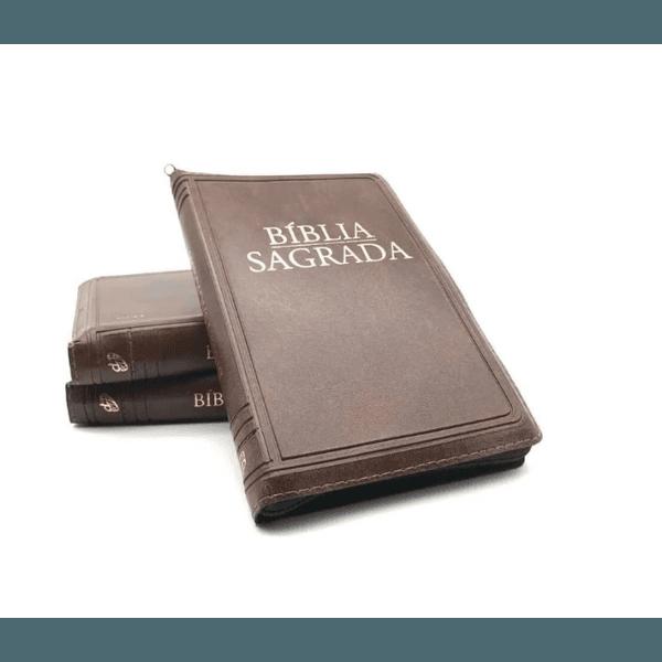 Bíblia Sagrada - Nova tradução na linguagem de hoje (BOLSO- zíper marrom)